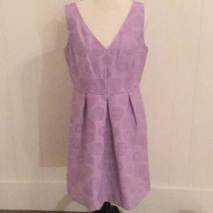 J Crew Factory lavender Sheath Dress